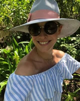 Катя Осадчая похвалилась отдыхом в бассейне