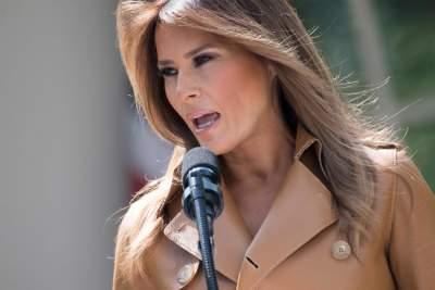 Мелания Трамп поразила стильным дорогим нарядом