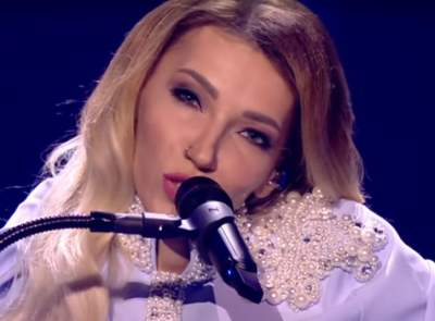 Россиянка опозорилась на «Евровидении-2018»
