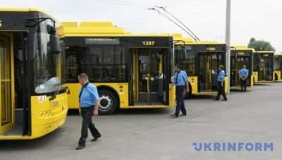 В Киеве на выходных изменится движение автобусов и троллейбусов