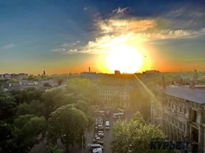 Цветущую Одессу показали с высоты птичьего полета