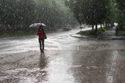 В начале недели Украину зальет дождями
