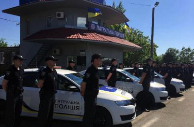 В Украине появилась патрульная полиция Крыма