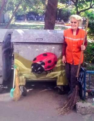 Уличный художник восхитил киевлян своим поступком