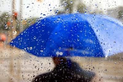 В Украину вновь идут дожди и прохлада