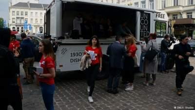 Украинцы в Бельгии обратили внимание европейцев на проблему Голодомора