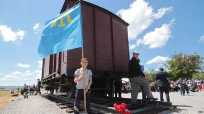 В аннексированном Крыму с помощью дрона звучал украинский гимн