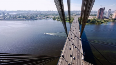 В Киеве на выходных ограничат движение по Северному мосту