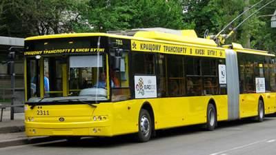 В Киеве из-за ярмарок некоторые автобусы изменят маршрут движения