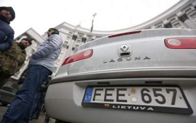 Пограничники придумали, как остановить поток машин на «евроблях»
