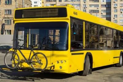 В Киеве на Велодень изменили маршруты автобусов