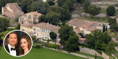 Джоли и Питт не смогли поделить французское поместье