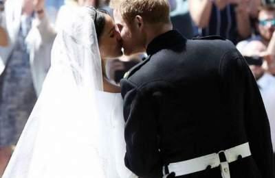 Меган Маркл ипринц Гарри впервые после свадьбы вышли всвет
