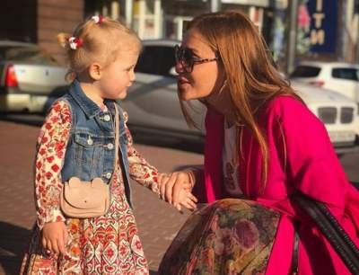 Слава Каминская показала фото с дочерью