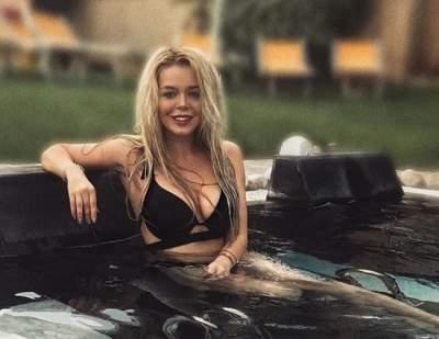 Алина Гросу сфотографировалась в бикини