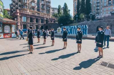 В центр Киева подтянули правоохранителей
