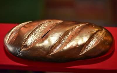 В киевском Ботсаду установят стометровый «золотой» батон