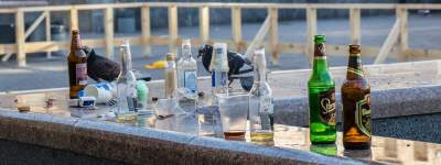 Мусор и пустые бутылки: как выглядит Киев в день финала ЛЧ
