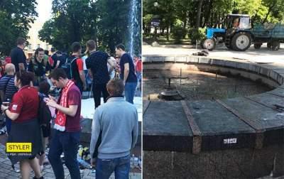 Украинцам показали, как за ночь убрали Киев после Лиги чемпионов