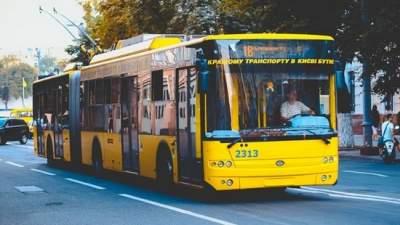 В Киеве ряд троллейбусов изменит маршрут
