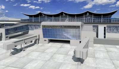 В Сети показали, как расширяют терминал D в «Борисполе»