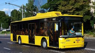 В Киеве некоторые троллейбусы изменят маршрут движения