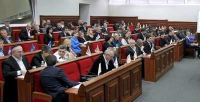 Число киевских депутатов могут сократить в несколько раз