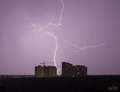 Украинцам обещают дождливые выходные