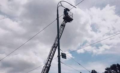На шести улицах Киева обновили освещение
