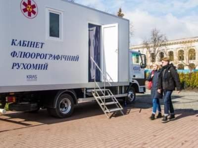 В июне киевляне смогут бесплатно проверить здоровье легких
