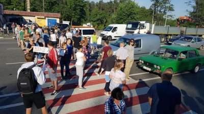 На Киевщине перекрыли трассу Киев-Ковель: названа причина
