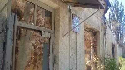 Как выглядит недавно освобожденный от боевиков поселок на Донбассе