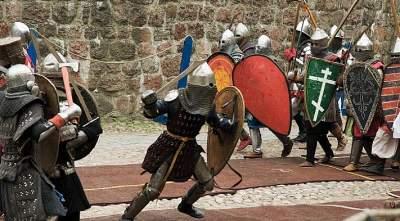В центре Киева состоится рыцарский турнир