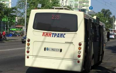 Киевлян возмутило наглое поведение маршрутчика