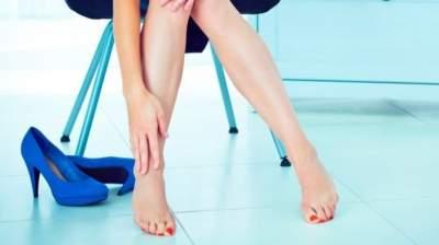 Что делать, если после работы отекают ноги