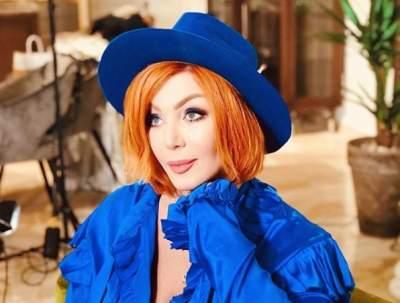 Ирина Билык удивила ярким макияжем