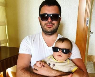 Гриша Решетник показал младшего сына