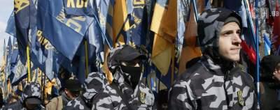 Нацдружинники поставили ультиматум ромам, поселившимся в киевском парке