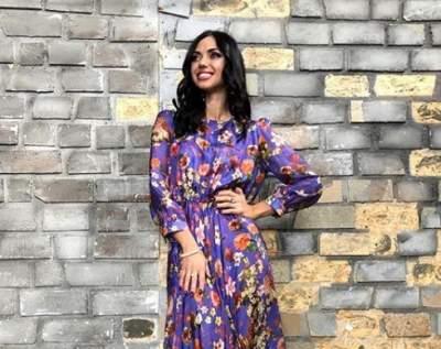 Вика из «НеАнгелов» подчеркнула фигуру коротким платьем