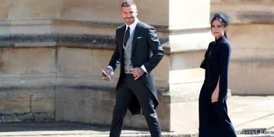 Бекхэмы выставили на продажу наряды с королевской свадьбы