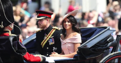 Меган Маркл дебютировала на лондонском параде