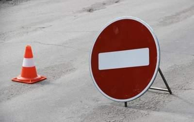 В Киеве будет ограничено движение на проспекте Маяковского