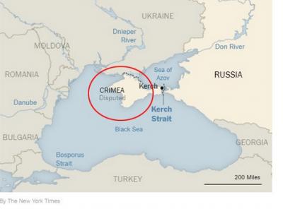 The Times извинилось за ошибку с «российским» Крымом