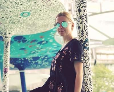 Тоня Матвиенко сделала селфи без макияжа