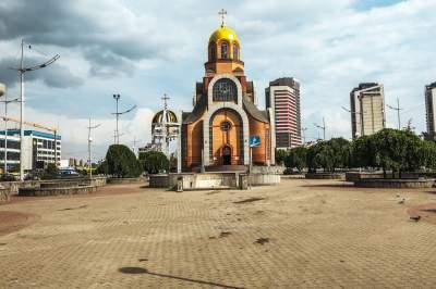 В Киеве ромы обустроили новый лагерь