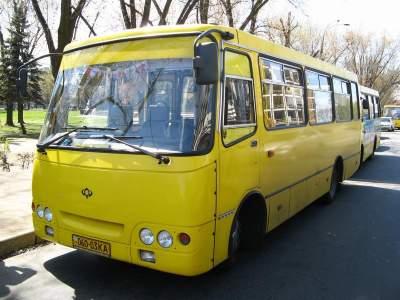В Киеве хотят убрать с дорог маршрутки