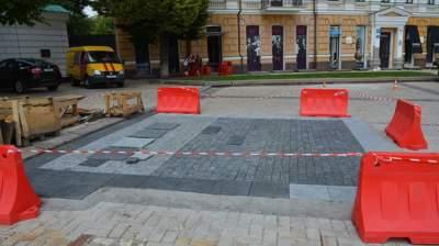 Ремонт Софийской площади: что изменится