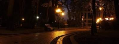 В Сети показали, как выглядит Мариинский парк ночью