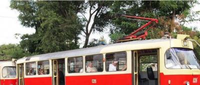 В Киеве два трамвая изменят свою работу