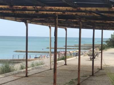 В Сети показали «переполненные» пляжи Крыма